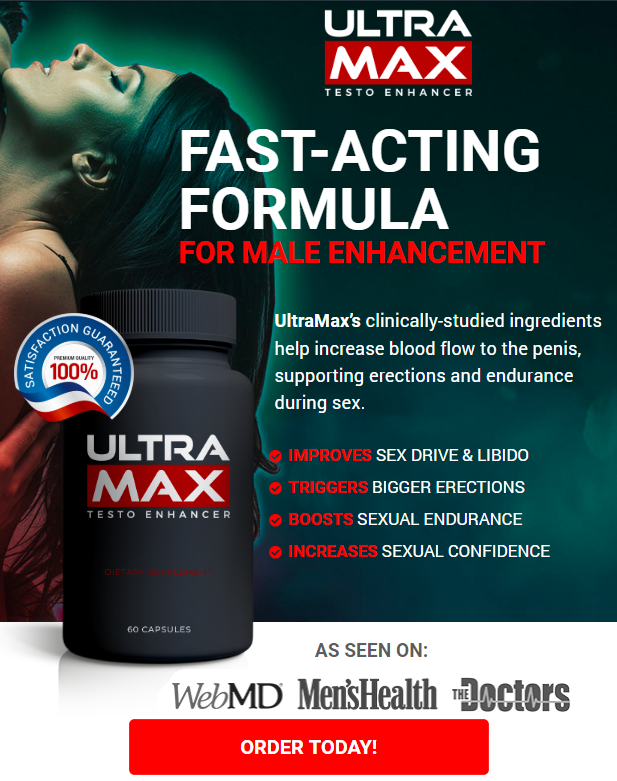 ULTRA MAX Testosterone Enhancer